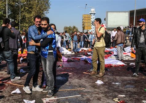 turkey train station bombings kill dozens in ankara cnncom twin blasts in turkish capital kill dozens at peace rally