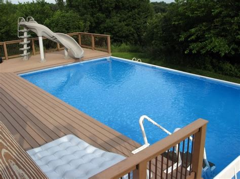 Above Ground Pool Deck Plans Design Ideas And Useful Tips Beautiful Slide Decks