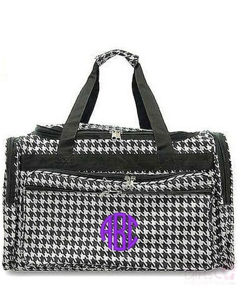 personalized  duffle overnight tote gym bag large