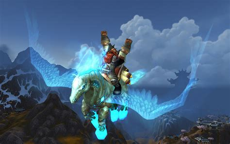 wow its night time here s how to get your free world of warcraft epic mount hearthsteed gamespot