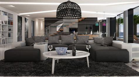 Big Sofa U Form by U Form Modern Schmauchbrueder