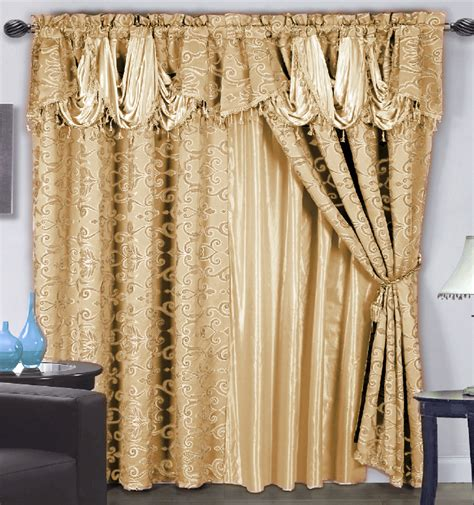 sears drapes and valances elegant shower curtains attached valance from sears com