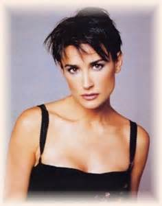 demi moore hair cuts very short straight hairstyle hair makeup ideas
