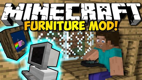 Furniture Mod 1 6 4 by Minecraft Furniture Mod Couches Tvs Computers More