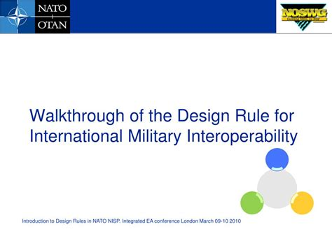 powerpoint design rules ppt introduction to design rules in nato nisp powerpoint