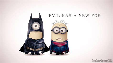 wallpaper minion batman batman and superman minions hd wallpaper stylishhdwallpapers