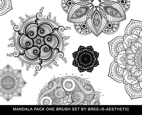 mandala templates for photoshop mandala photoshop brushes set photoshop brushes free