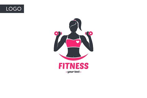 Logo Quot Fitness Quot Logo Templates Creative Market Free Fitness Logo Templates