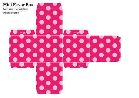 favor templates free diy favor box baby shower ideas themes
