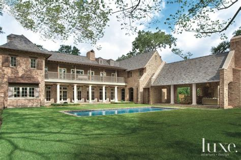 European Style House Plans traditional french country inspired houston ranch home