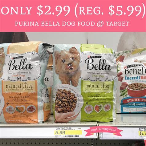 dog food coupons target only 2 99 regular 5 99 purina bella dry dog food