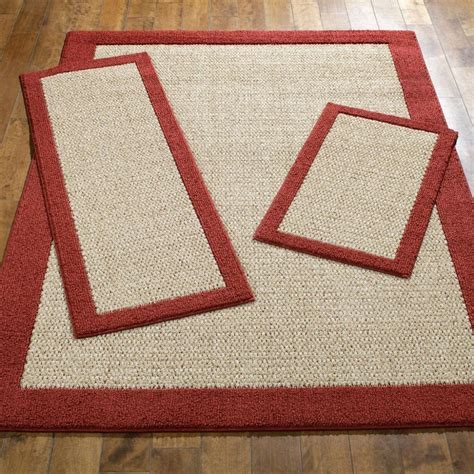 faux sisal rugs faux sisal cranberry area rug set maples rugs