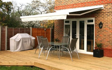 patio awnings uk awnings we supply domestic commercial retractable patio