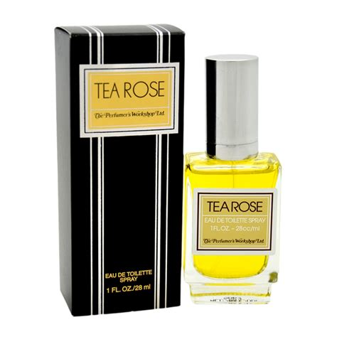 amazon tea amazon com tea rose by perfumer s workshop for women 4 ounce edt spray eau de parfums beauty