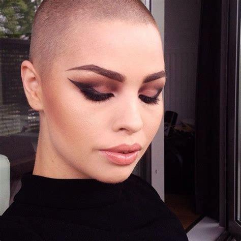 buzzed hair and balding instagram photo by celine bernaerts celine bernaerts