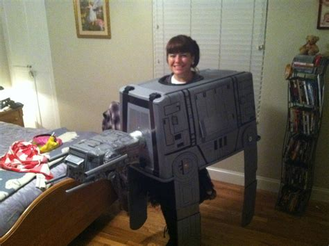 Handmade Wars Costumes - my wars imperial walker at at costume