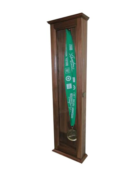 Display Cabinets For Medals by Sports Medal Display Cabinet Wood Displays