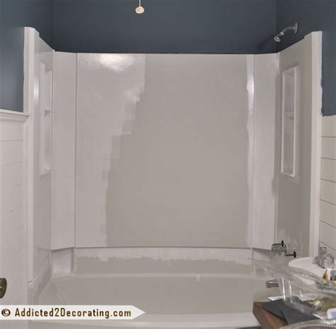 fiberglass bathtub paint how to paint a bathtub and tub surround