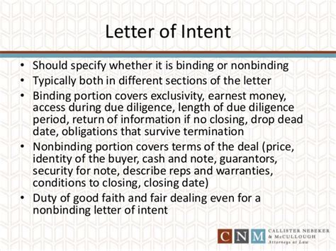 Letter Of Intent Faith How To Structure A Business To Sell