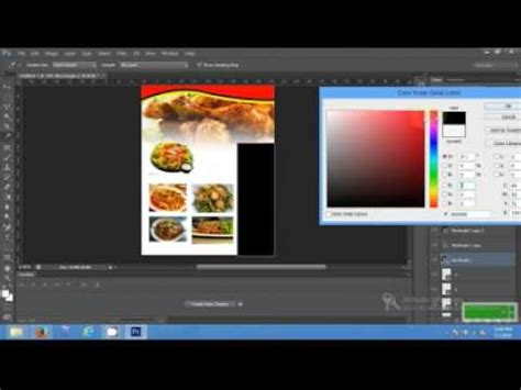 cara membuat flyer dengan photoshop cs5 adobe photoshop da el broş 252 r 252 hazırlama doovi