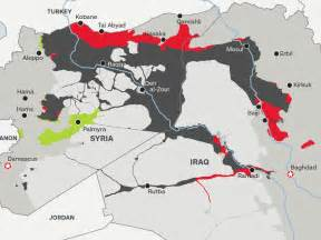 Map how much territory isis lost in 2015 business insider