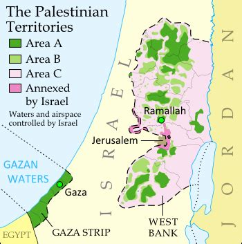 west bank definition is palestine really a country political geography now