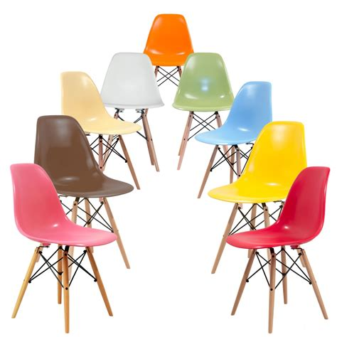 chaise multicolore chaise eames multicolore picslovin
