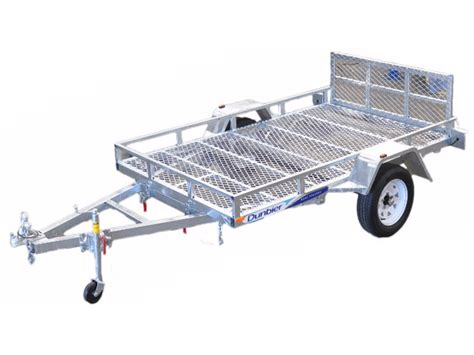 boat trailer wheels perth new atv trailers 8x5 and 9x5 dunbier marine products