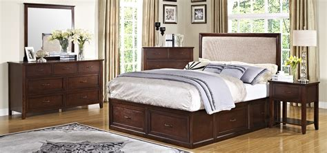 storehouse bedroom furniture serenity african chestnut storage bedroom set from new