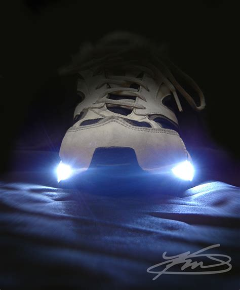 Shoe Lights For Runners by Lightspeeds Led Running Shoes On Behance