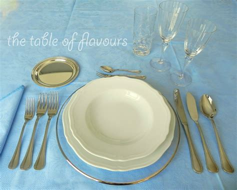 Setting Table by The Table Of Flavours 5 Basic For The Formal Table
