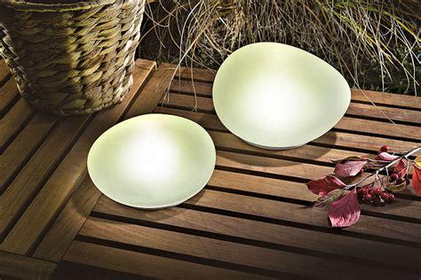 solar leuchtsteine duo er set echtglas satiniert led