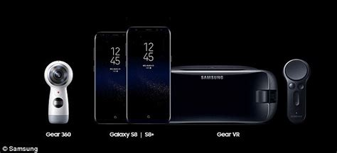 Headset Samsung Di Samsung Center Samsung Galaxy S8 Officially Unveiled Daily Mail