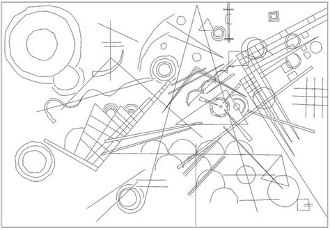Kandinsky Coloring Pages kandinsky coloring pages coloring pages