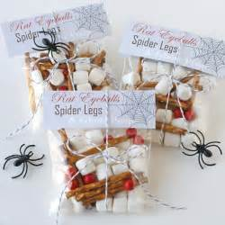 Cute and creepy halloween treats and a free printable glorious