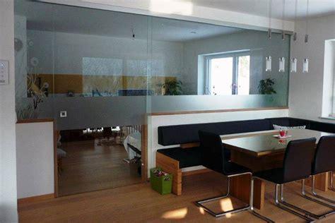 trennwand im wohnzimmer glas berger lifestyle design interieur im privatbereich