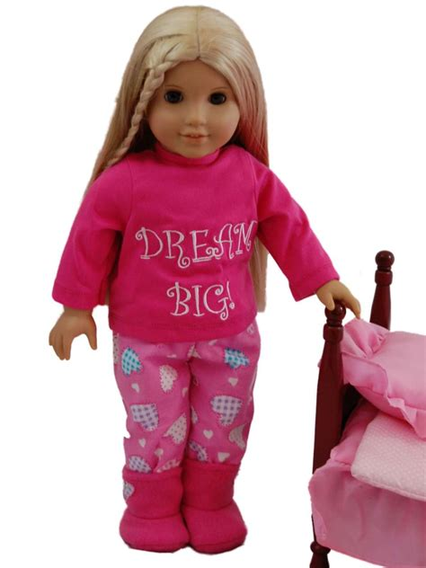 Big Doll big pajama s for 18 quot american 168 doll clothes