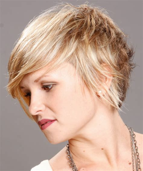 haircuts usa short straight casual hairstyle medium blonde chagne