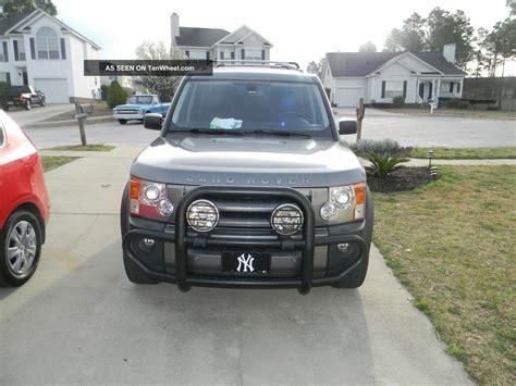 land rover 2007 lr3 2007 land rover lr3 se sport utility 4 door 4 4l