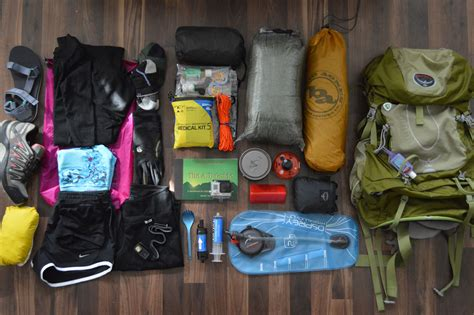 how to pack for an appalachian trail thru hike rei co op