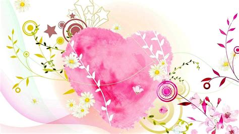 themes love hart hearts and flowers wallpapers wallpaper cave