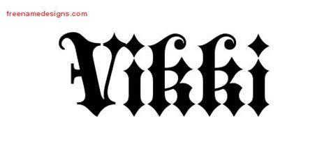 tattoo name vikki vikki archives page 2 of 2 free name designs