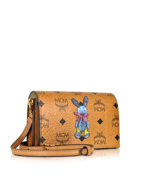 Mcm Medium Rabbit Crossbody Bag lyst mcm rabbit mini crossbody bag in pink