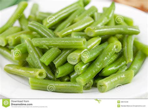 boiled green beans royalty free stock photos image 28675348