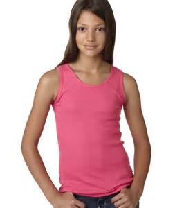 models information top lat la t sportswear girls 2x1 rib tank top 2566 ebay