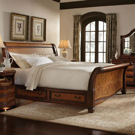 bedrooms with sleigh beds night stand size unique nightstands bedroom nightstand by