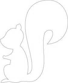 Squirrel template free coloring pages on masivy world