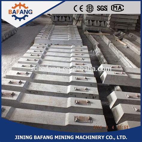 Used Concrete Railway Sleepers by Prestressed Concrete Sleeper Production Equipment Used