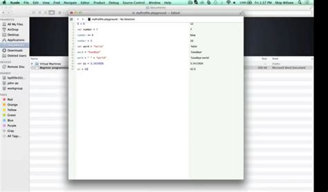 xcode database tutorial for beginners learn xcode and swift to develop ios apps idevie