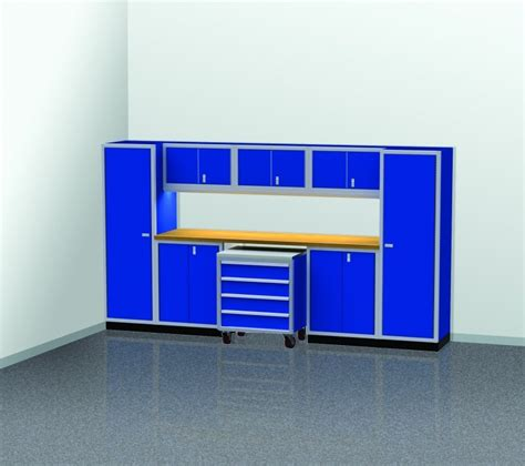 4 Ft Wide Storage Cabinet by Pgc012 04 12 Foot Wide Garage Cabinet Combination